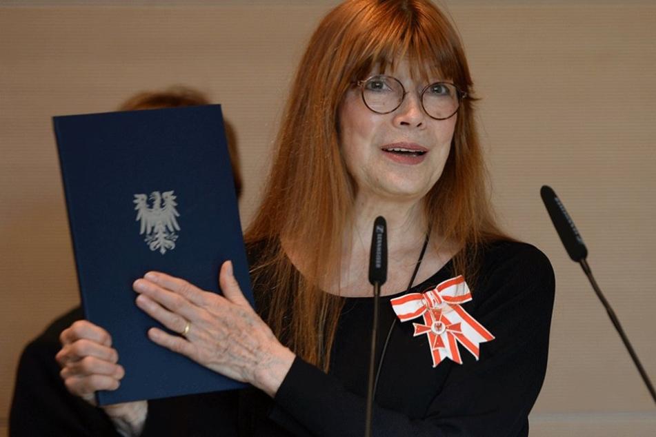Schauspielerin Katja Ebstein gehört zu den prominentesten Mitgliedern der Bundesversammlung.