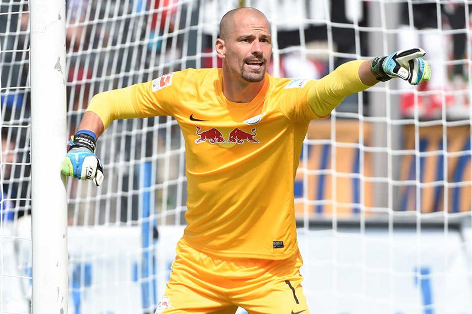 Bleibt RB Leipzig noch ein Jahr lang erhalten: Torhüter Fabio Coltorti.