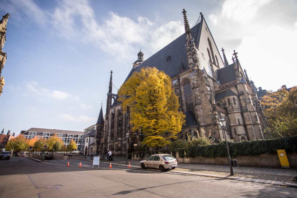 Auf dem Dittrichring wird auf Höhe der Thomaskirche bis zum Neuen Rathaus vom 28. Mai bis 13. Juli gebaut. (Archivbild)