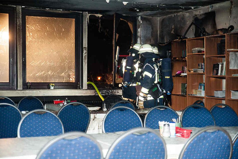 Bei dem Brandanschlag wurde zum Glück niemand verletzt.