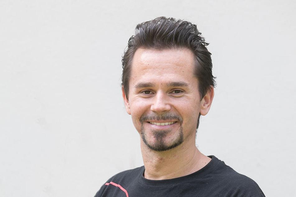 Rocco Zschuppe (31) will als Ironman um Spenden für den Verein Sonnenstrahl kämpfen.