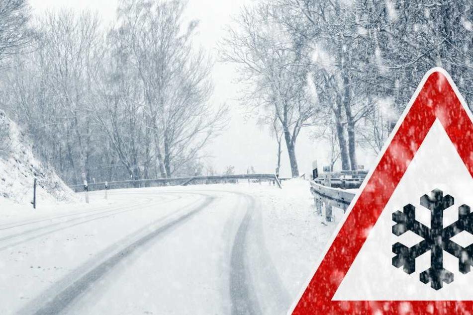 Autofahrer müssen mit Verkehrsbehinderungen durch Schnee und Matsch rechnen. (Symbolbild)