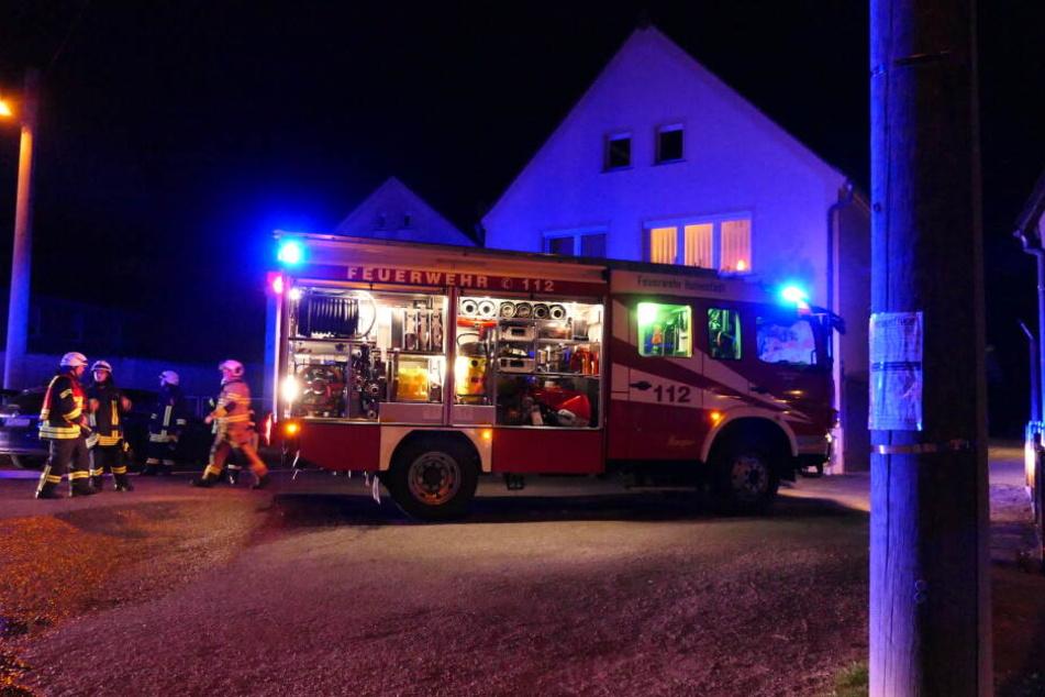 """Ein Schornstein war in Brand geraten. Der Grund dafür: sogenannter """"Ganzruß""""."""