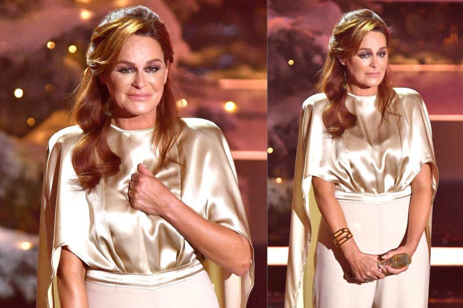 Bei einem Auftritt im ZDF brach Andrea Berg (50) in Tränen aus.