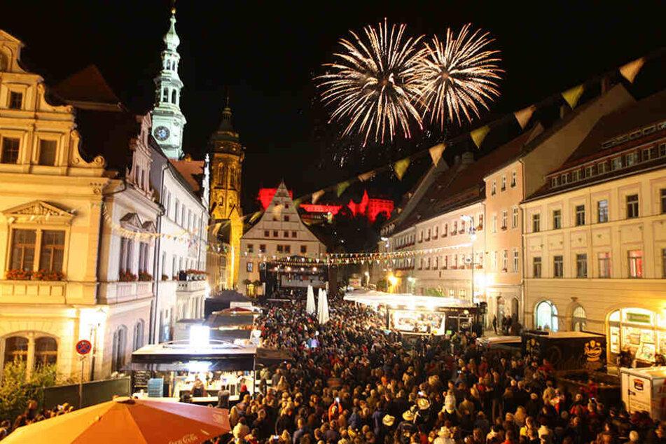 Tausende feierten in malerischer Kulisse das Stadtfest Pirna. Laut Anklage wurde Jens auf der Feier allerdings massiv ausfällig.