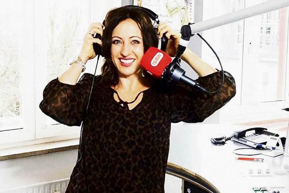 """Friederike """"Freddy"""" Holzapfel gab am Dienstag bei Radio SAW in Magdeburg ihren Einstand."""