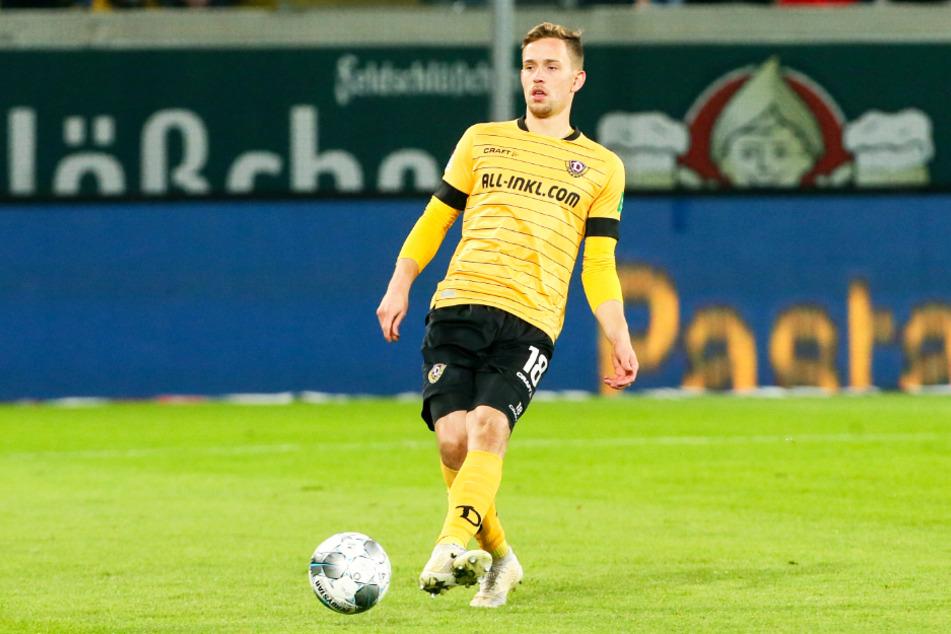 Jannik Müller (26) spielte sechs Jahre für Dynamo Dresden und kam in dieser Zeit 145 Mal (sechs Tore, drei Vorlagen) zum Einsatz.