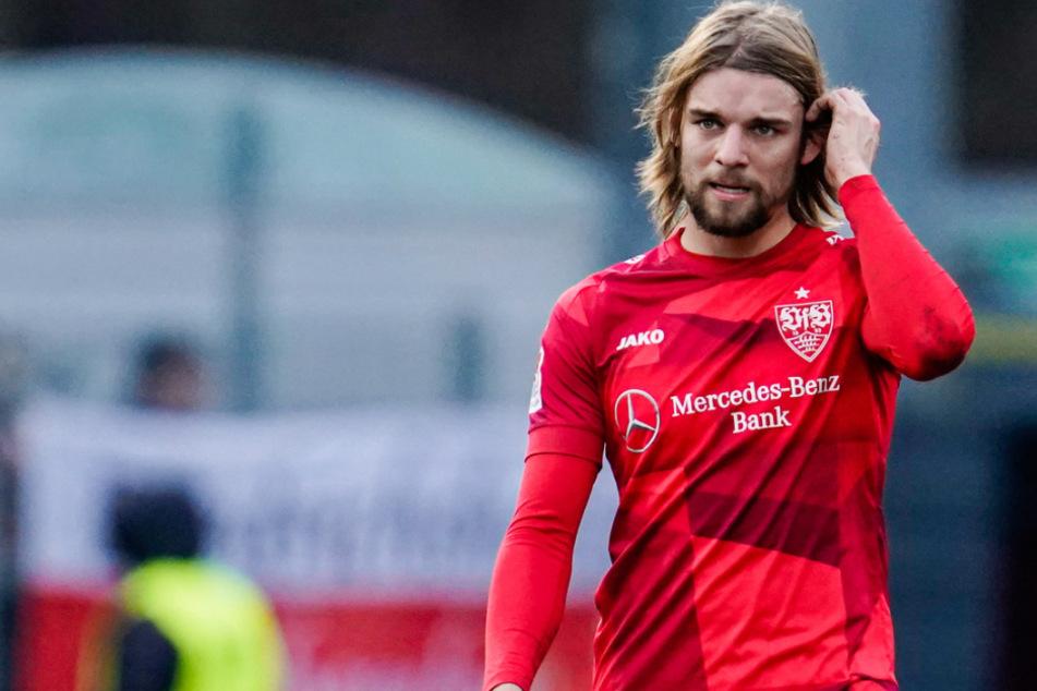 Der VfB-Linksverteidiger Borna Sosa (22) fällt für den Rest der Zweitliga-Saison aus.