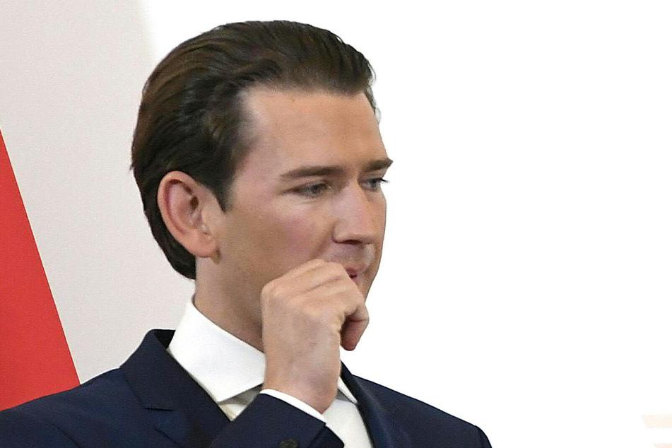 Sebastian Kurz (ÖVP, l), Bundeskanzler von Österreich.