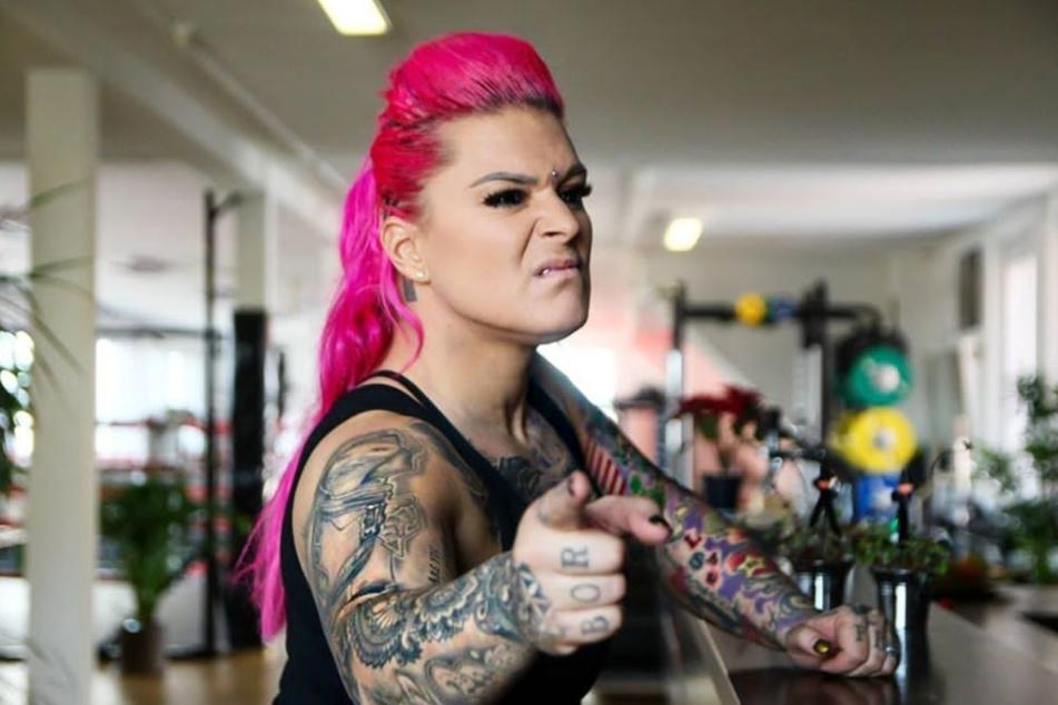 Jazzy Gabert (38) schaffte es als erste Frau Deutschlands in die US-amerikanische Profi-Wrestling-Liga WWE.
