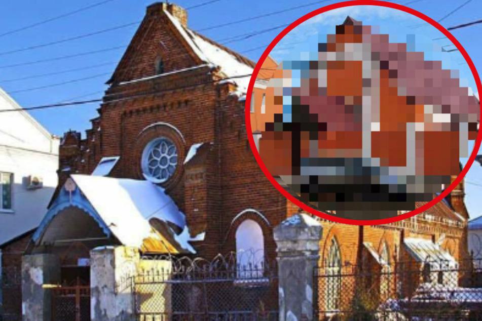 Schön geht anders! Russische Kirche wird renoviert, das Ergebnis tut in den Augen weh