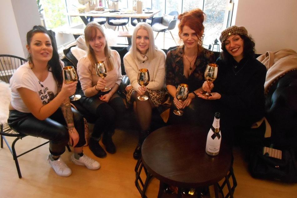 """Das sind die fünf """"Shopping Queen""""-Kandidatinnen aus Leipzig."""