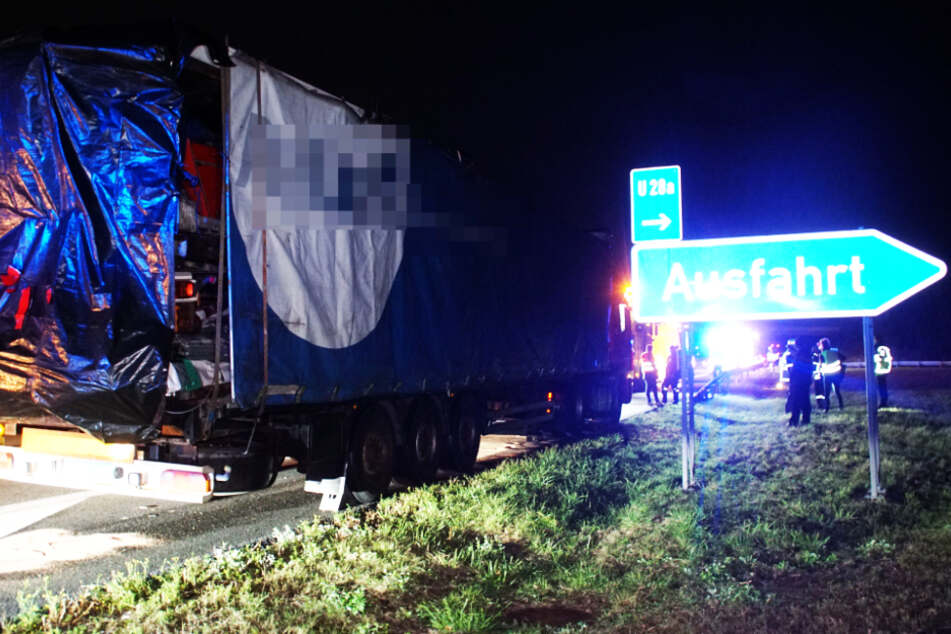 Lastwagen-Panne auf A8: 500 Liter Diesel ausgelaufen!