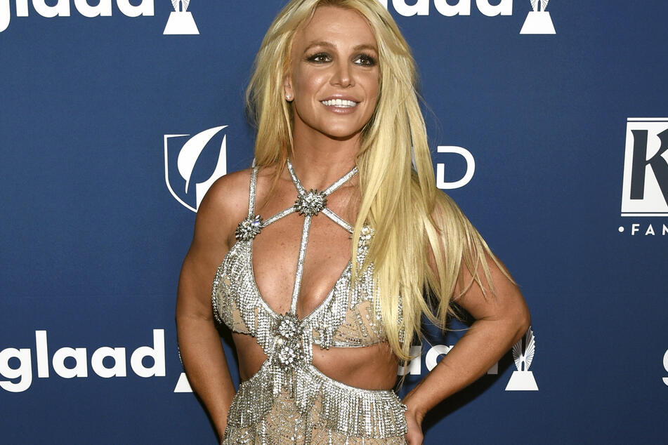 Britney is usually photographed in something a lot sexier than plaid.