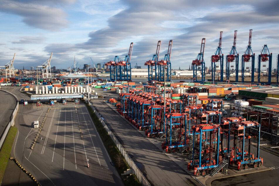 Die Verfolgungsjagd endete im Hamburger Hafen.