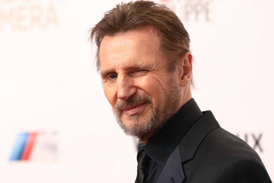 Liam Neeson bei der 53. Verleihung der Goldenen Kamera 2018 in Hamburg.