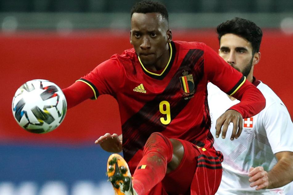 Dodi Lukebakio debütierte gegen die Schweiz für die belgische Nationalmannschaft.