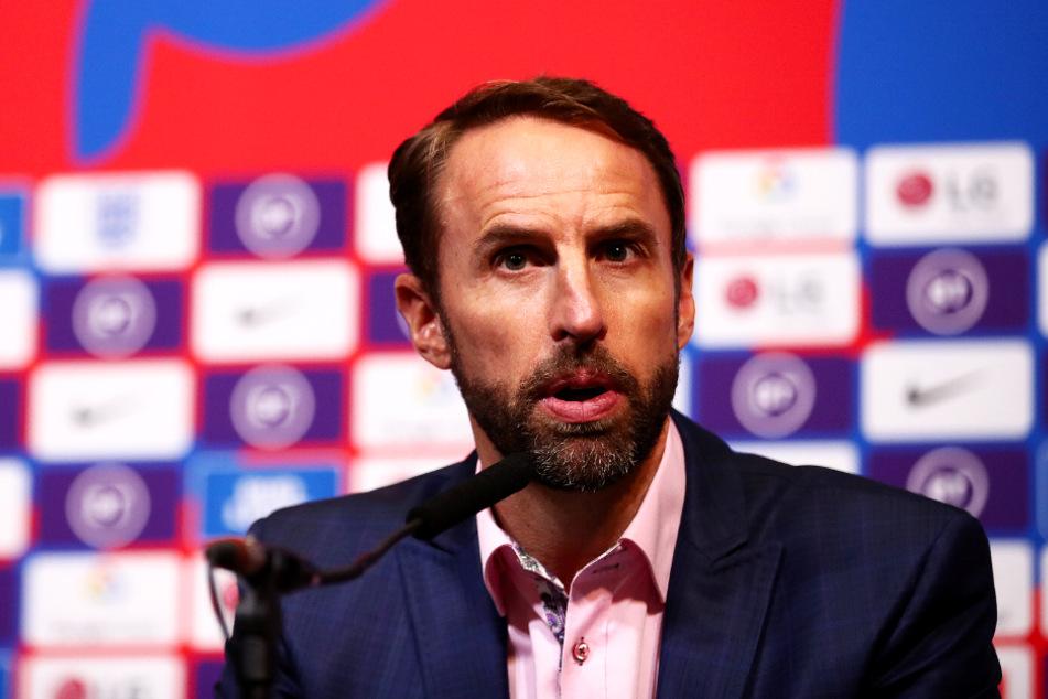 Englands Nationaltrainer Gareth Southgate (50) strich Mason Greenwood und Phil Foden nach ihrem Verstoß aus dem Kader und schickte sie nach Hause.