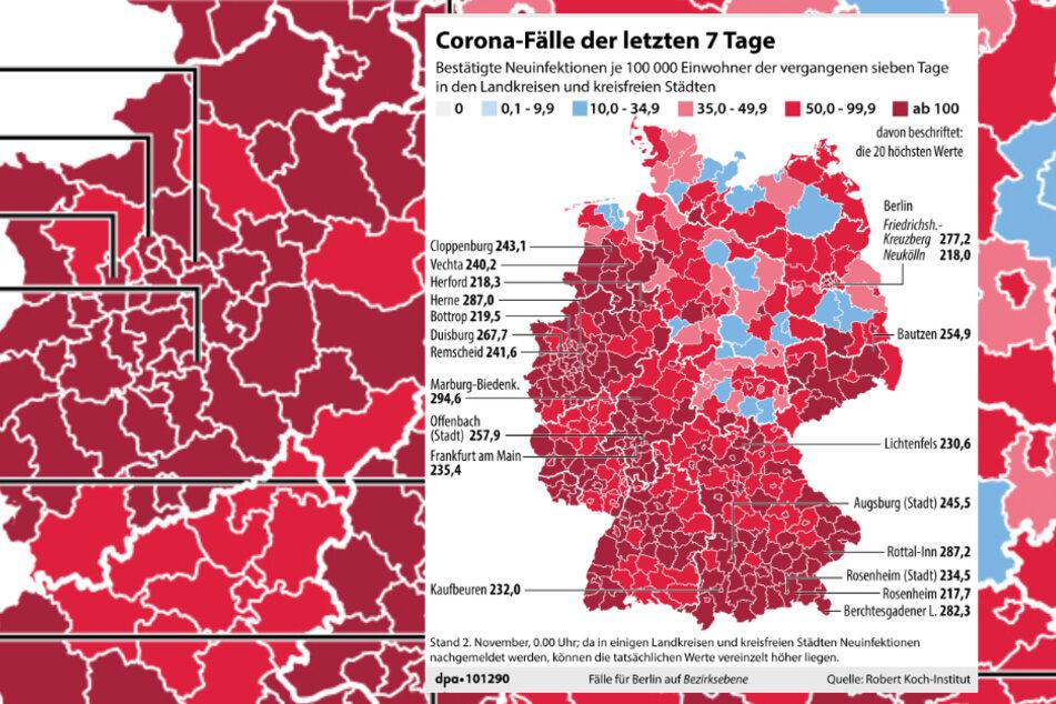 Coronavirus Nordrhein Westfalen Karte