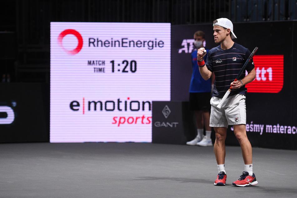 Tennis-Turnier Köln: Schwartzman und Sinner im Halbfinale