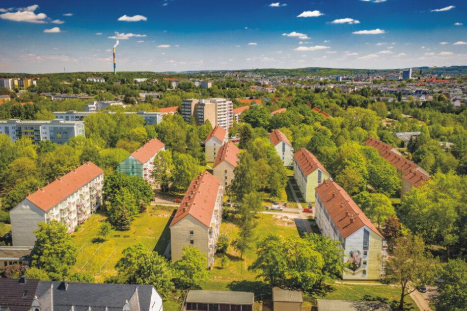 Das Flemming-Gebiet war die erste große Wohnleistung im damaligen Karl-Marx-Stadt.