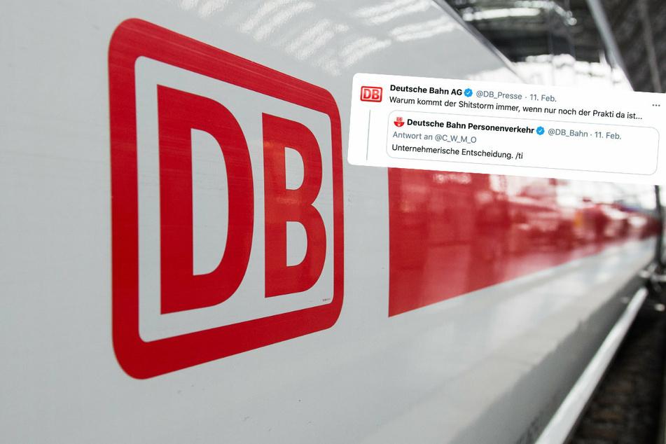 Deutsche Bahn macht Praktikantenwitz: Sofort gibt es einen Shitstorm!