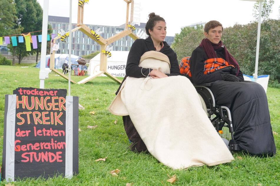 Hungern fürs Klima: Bedrohliche Lage, weil Streikende nichts mehr trinken