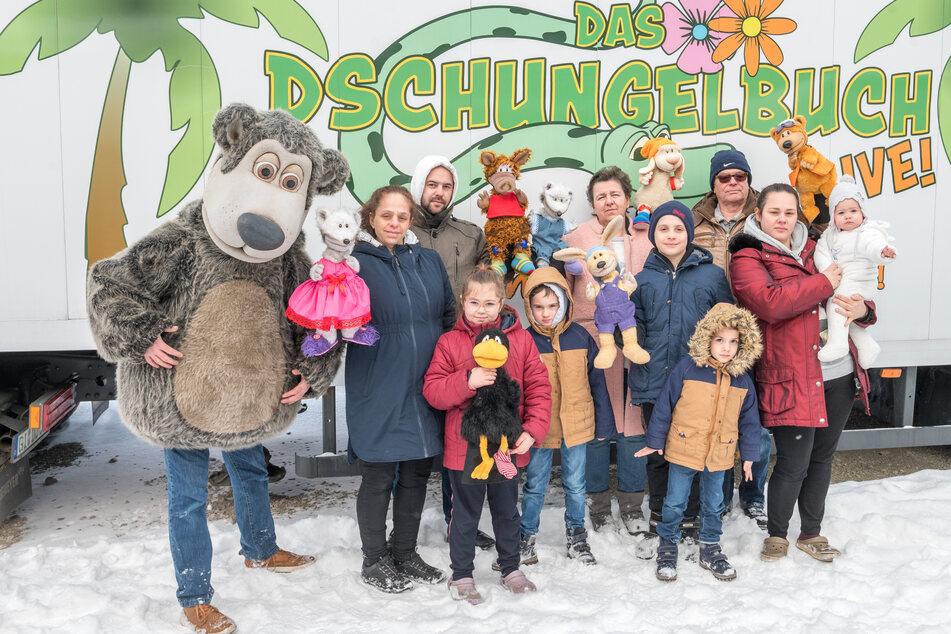 In Dresden gestrandet! Theater-Familie kämpft ums Überleben