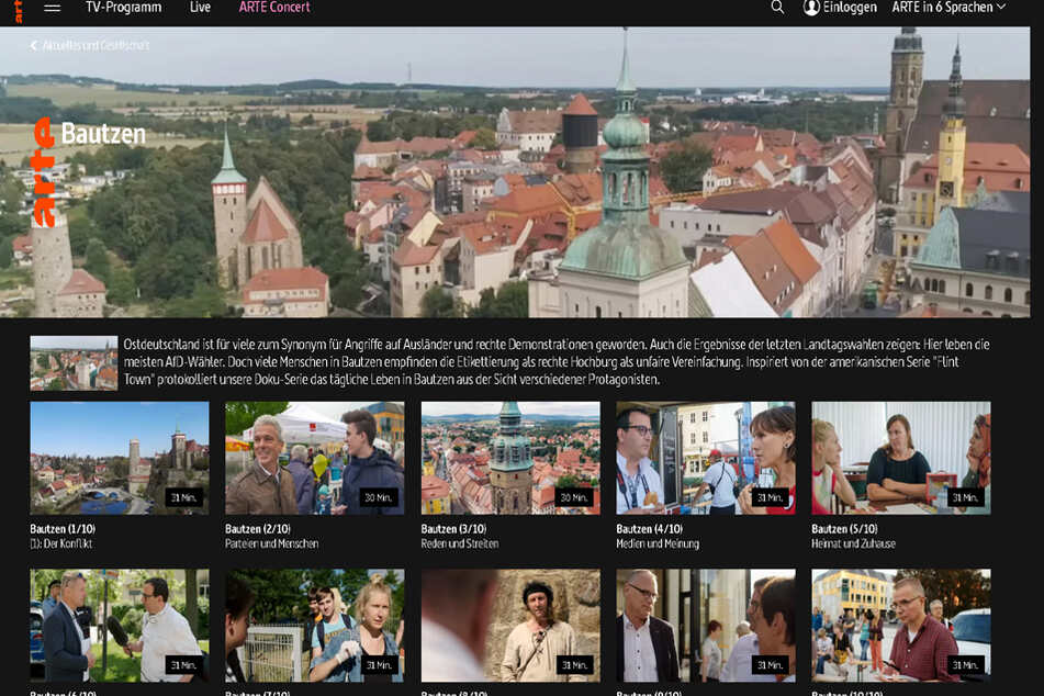 """Bautzen, """"das braune sächsische Nest""""?"""