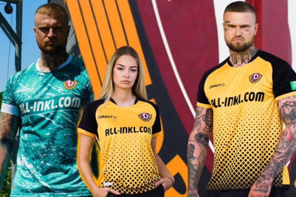 Neues Dynamo-Trikot ist endlich da: So läuft die SGD in der kommenden Saison auf!
