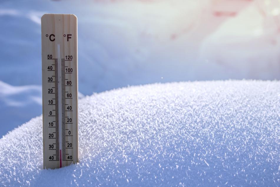 Am Boden wurden in Marienberg-Kühnhaide minus 30,5 Grad gemessen (Symbolbild).