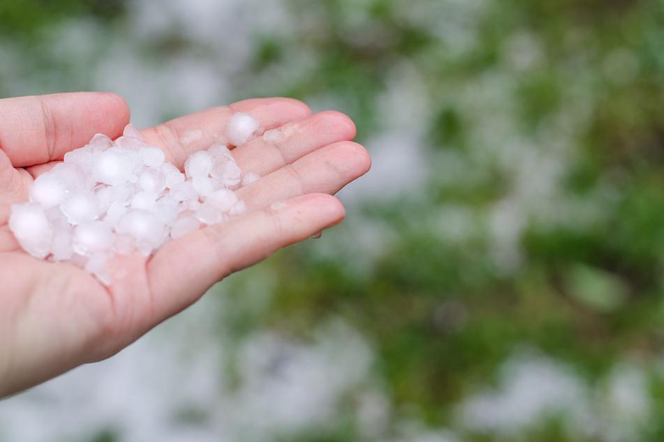 Laut Umfrage sind Hagel und Sturm die Extremwetterereignisse, welche die Leipziger Bevölkerung am häufigsten betrifft.