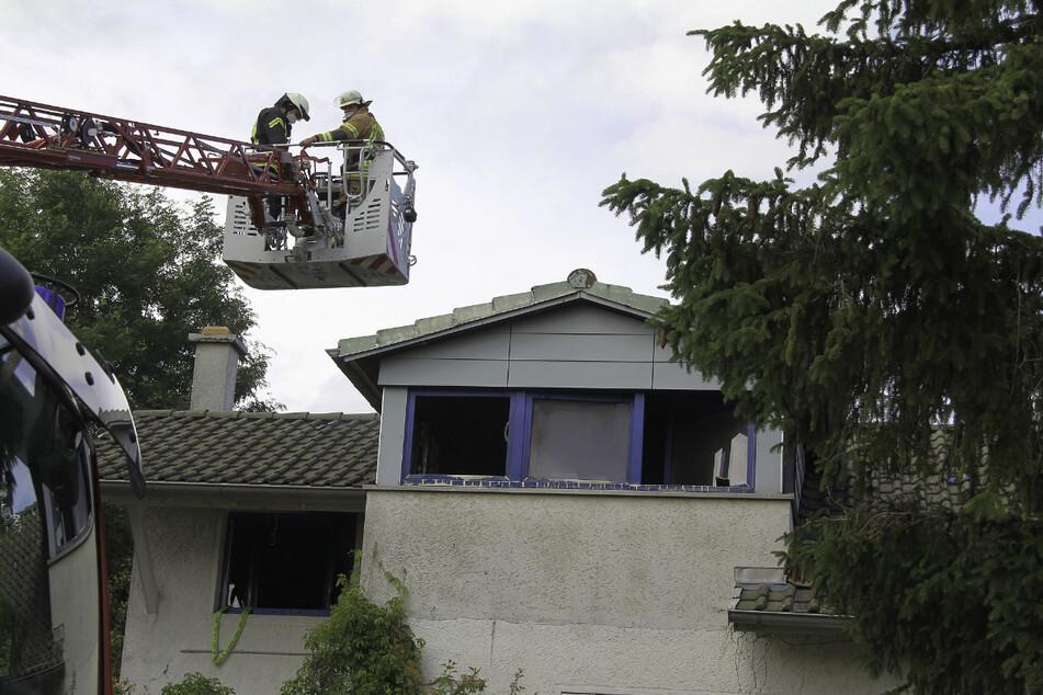 In dieser Wohnung in Dauchingen kam es zu einem Dachstuhlbrand.