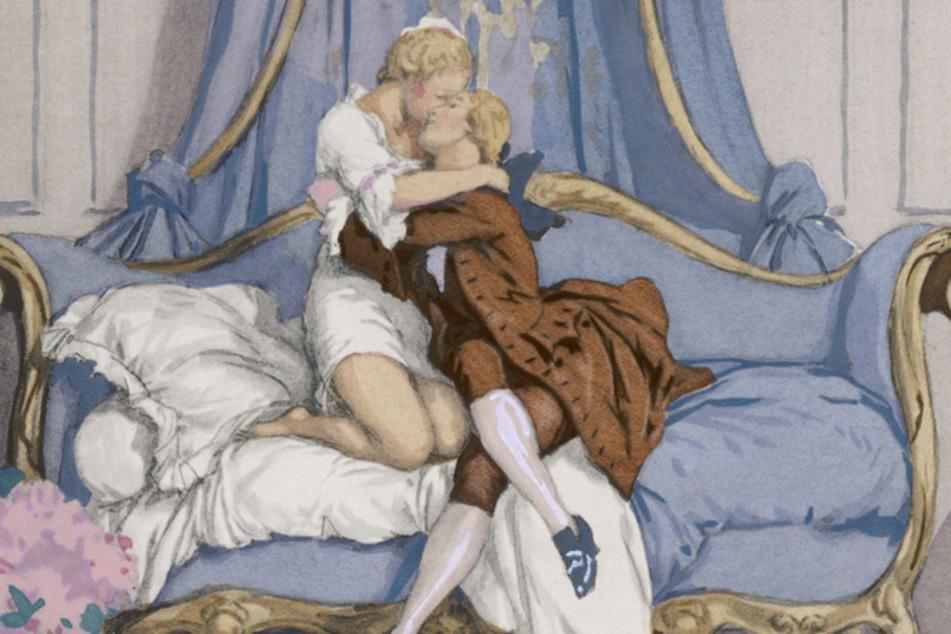 Casanova liebte die Dresdner Mädchen.