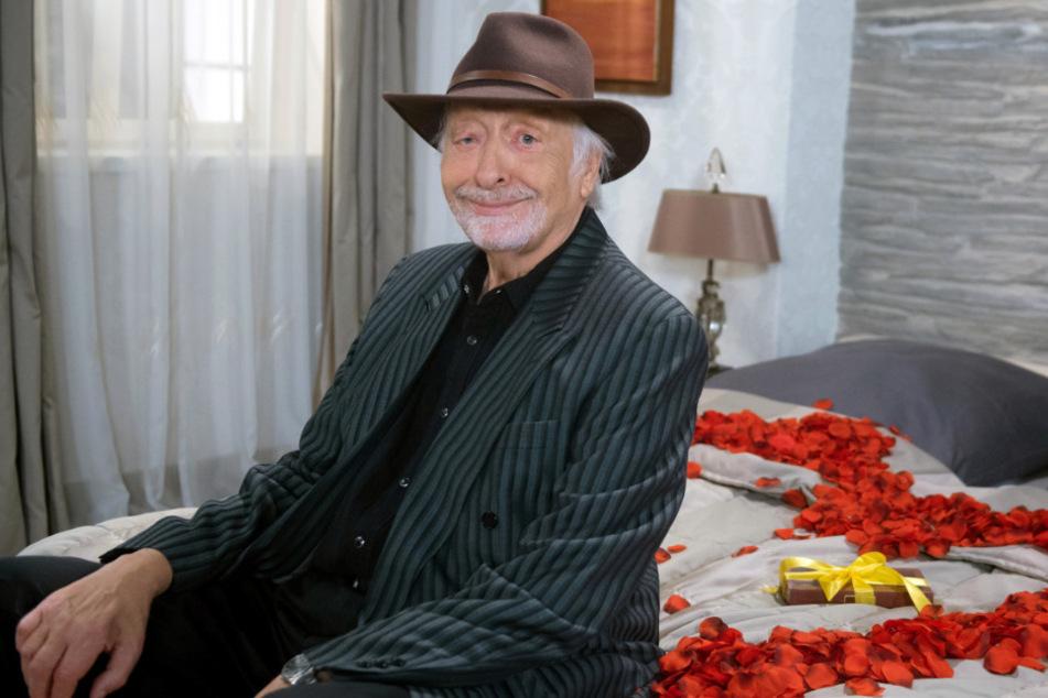 """Karl Dall spielt bei """"Rote Rosen"""" den Rockstar Richie Sky."""