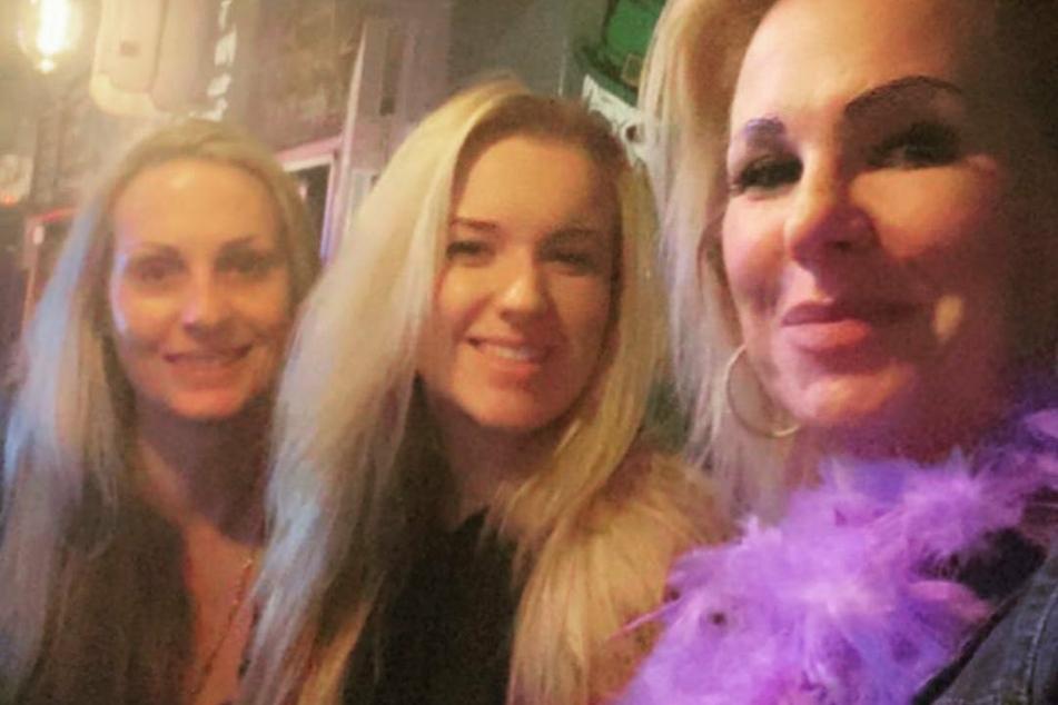 Adeline verbringt derzeit viel Zeit mit ihrer Mutter Claudia Norberg (rechts) und Freundin Anja Siebert (links).