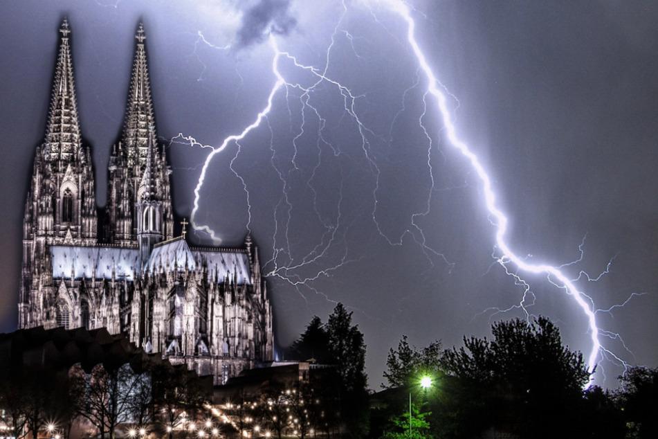 Blitzatlas: Hier gibt es die meisten Blitze in NRW!
