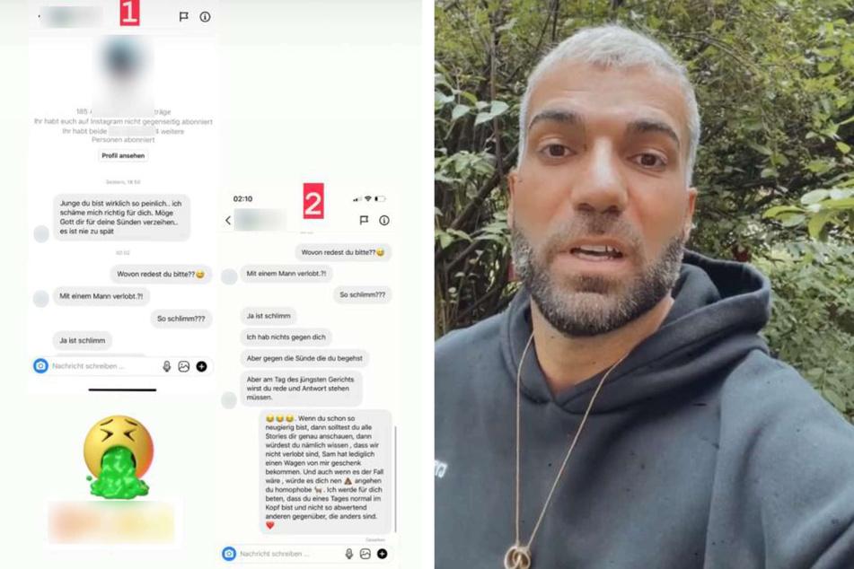 Wegen seiner Homosexualität: Rafi Rachek ist bei Instagram krassen Anfeindungen ausgesetzt