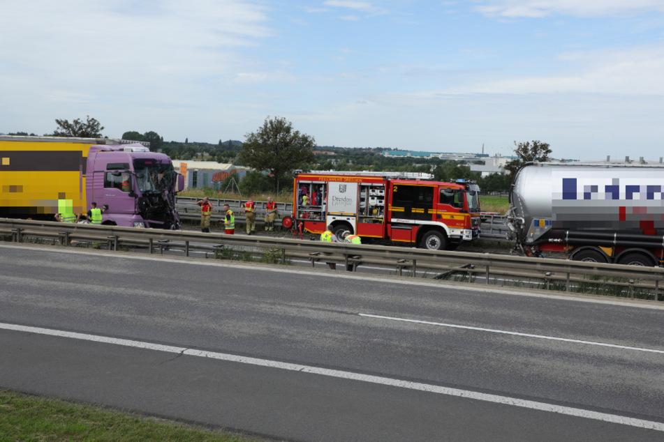 Die Feuerwehr war mit 54 Einsatzkräften vor Ort.
