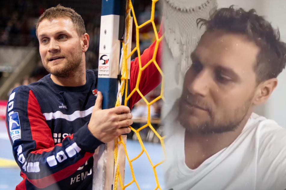 """Handball-Star Michael """"Mimi"""" Kraus äußerte sich in einer Instagram-Story kryptisch darüber, ob er als Profisportler weitermachen wird. (Fotomontage)"""