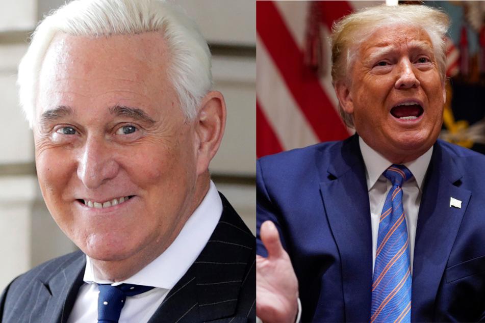 Donald Trump erspart Freund Roger Stone die Gefängnisstrafe