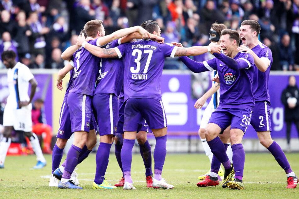 Die Veilchen feierten zuletzt einen sensationellen 3:0-Sieg gegen den HSV.