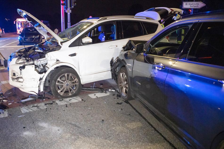 In Fürth kam es am Dienstagabend zu einem schweren Unfall.