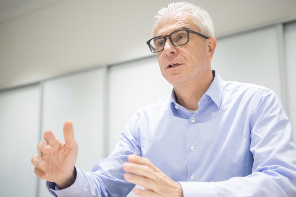 Christian Rauch, Vorsitzender der Geschäftsführung der Regionaldirektion Baden-Württemberg der Bundesagentur für Arbeit.