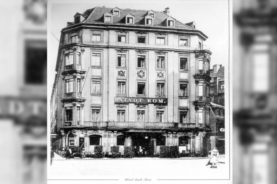 Im Hotel Stadt Rom vergnügte sich einst Casanova.