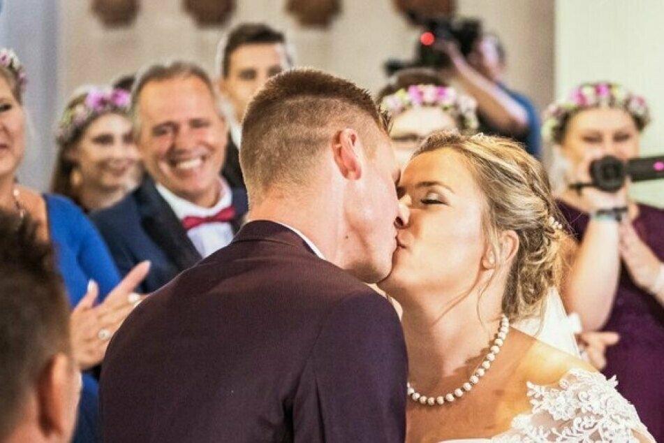 Sarafina Wollny (25) und ihr Peter (27) hatten sich 2019 vor laufenden TV-Kameras das Ja-Wort gegeben.