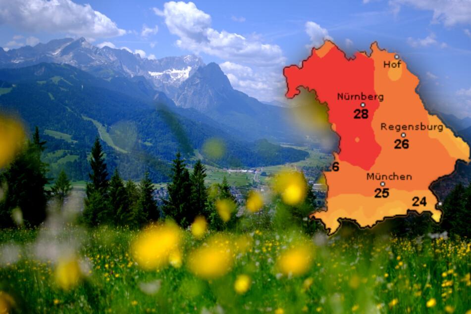 Ausflug in die Berge? So wird das Wetter am Wochenende in Bayern