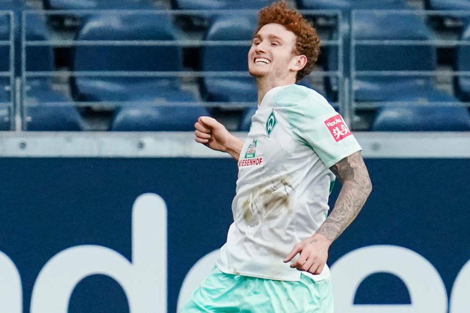 Beim 1:1 am 6. Spieltag im Deutsche Bank Park traf Josh Sargent noch gegen Eintracht Frankfurt. Wird er nun bald für die Hessen auf Torejagd gehen?