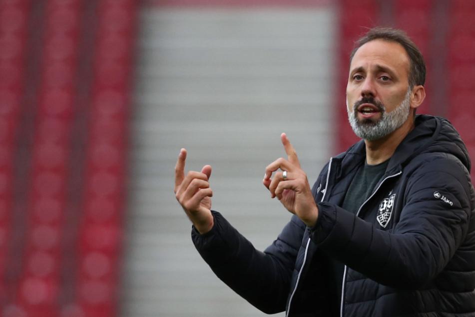 VfB-Trainer Pellegrino Matarazzo (42).