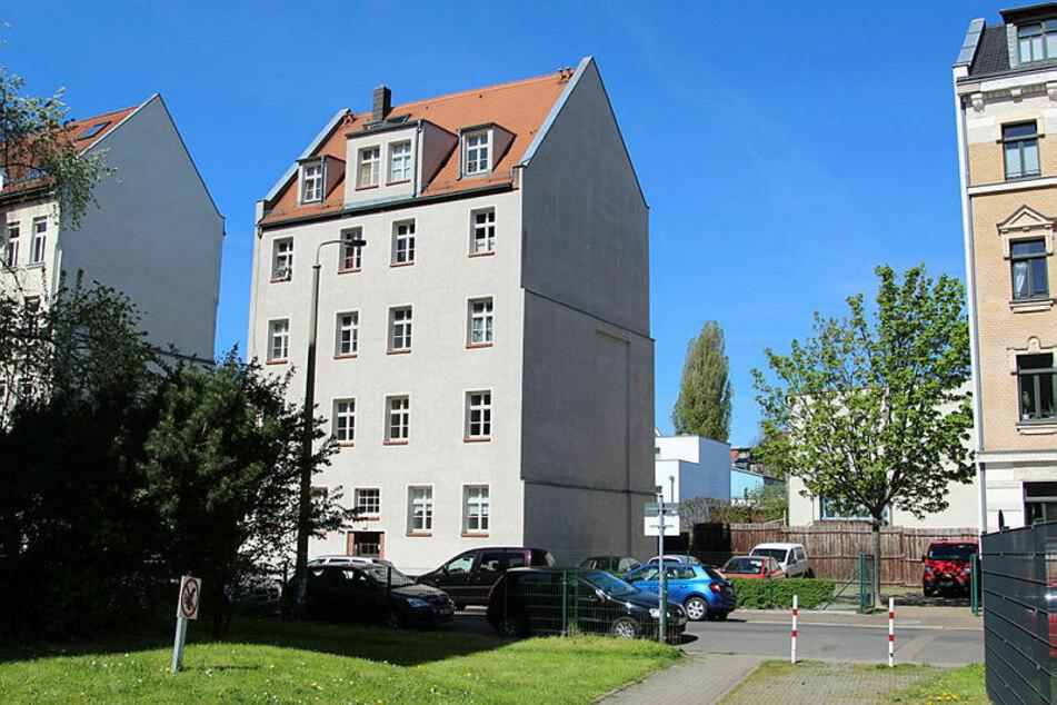 In diesem Mehrfamilienhaus in Leipzig-Gohlis kam es zum antisemitischen Eklat.